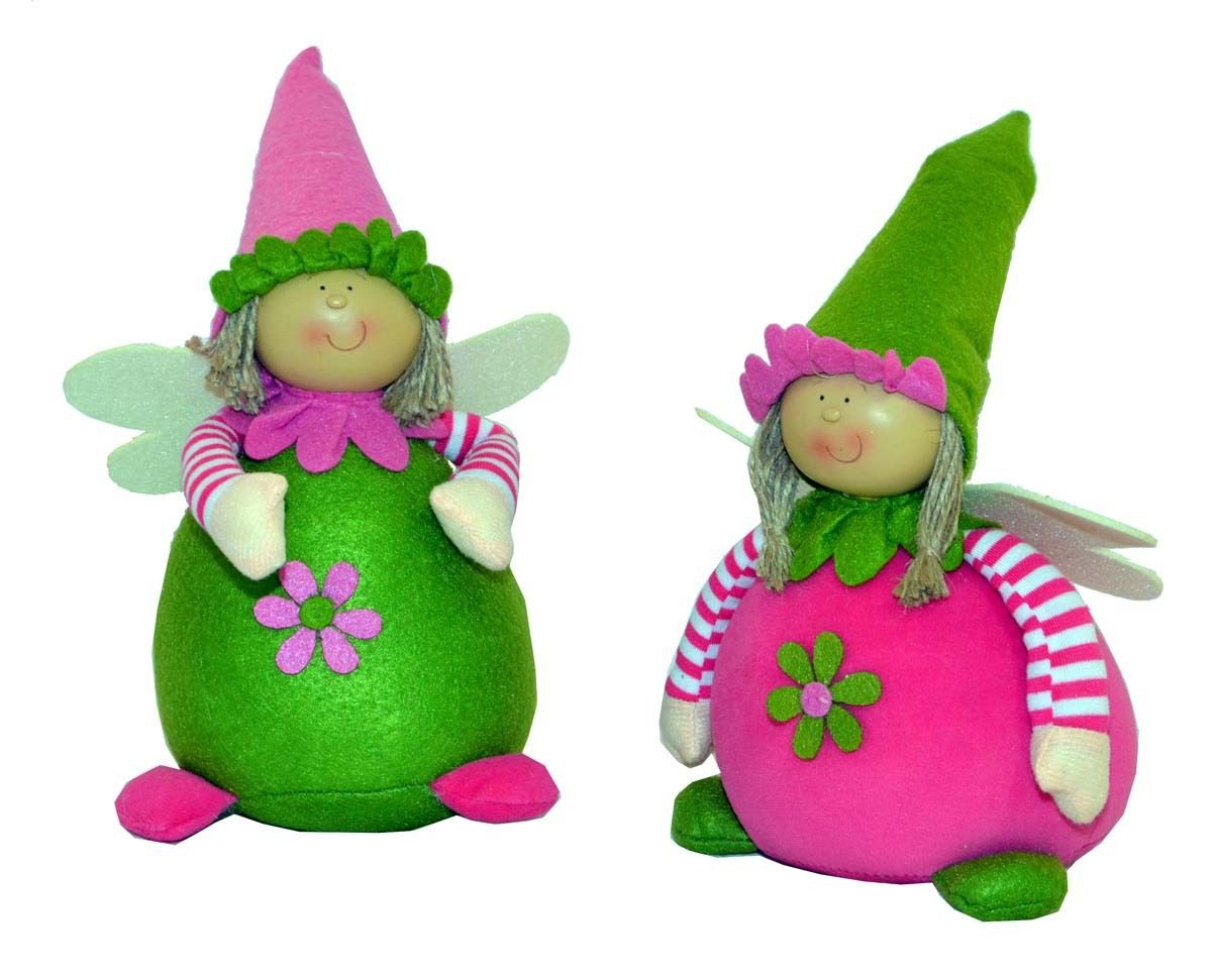 Deko kinder wichtel lustig dekoration 2 figuren fl gel for Kinder deko