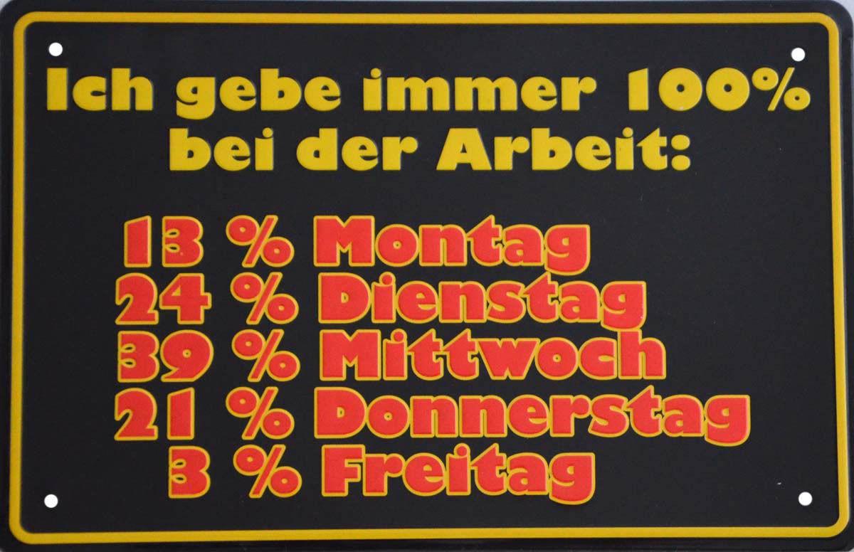 Deko,Blechschild,Schild,Spruch,Metall,Sprüche,Schilder,Blech, ...
